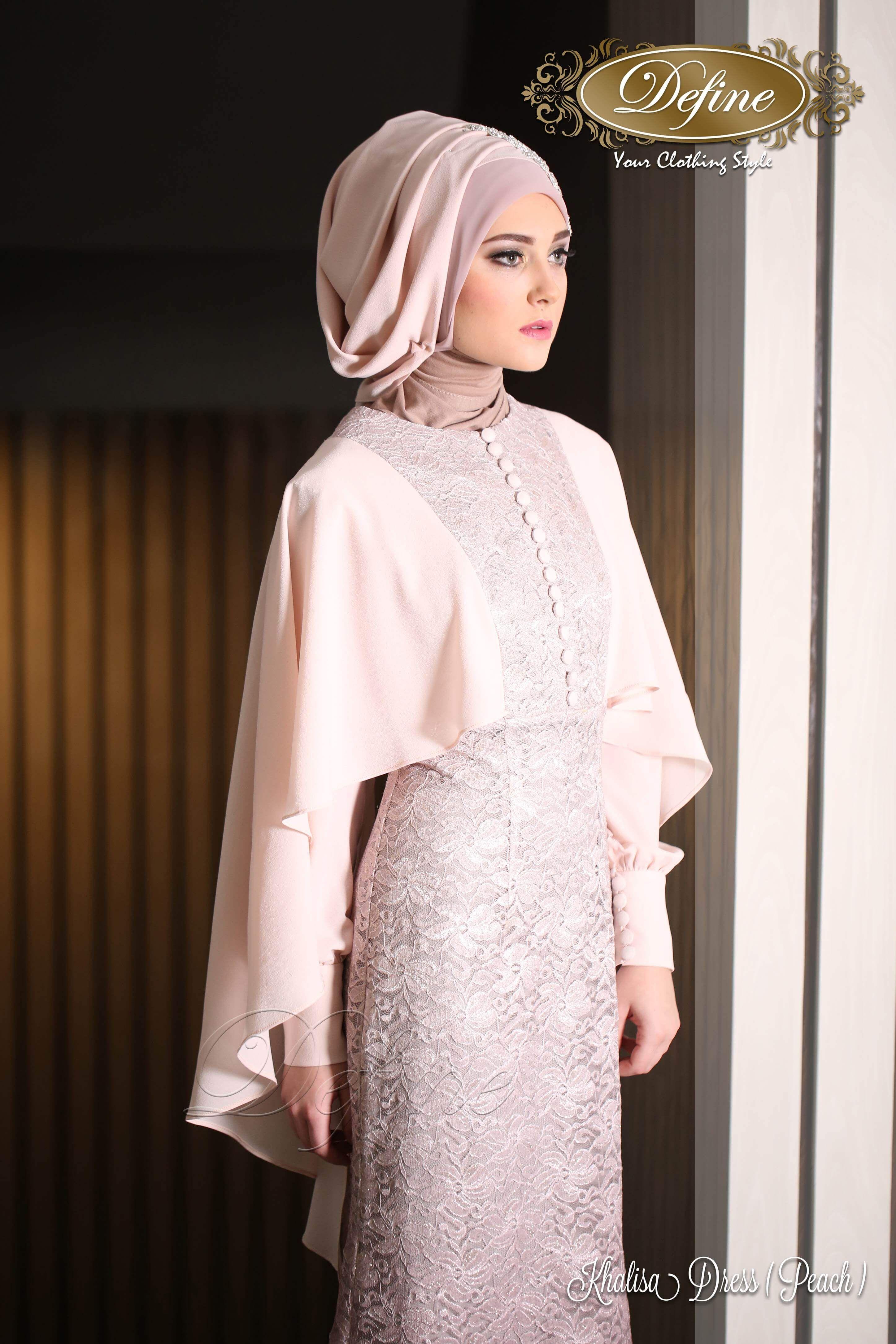Khalisa Dress Gamis Pesta Mewah Yang Elegan Nan Syar I Projects To