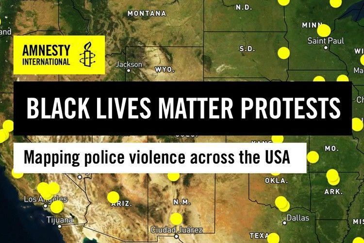 Digital Currency I In 2020 Black Lives Matter Protest Ciudad Juarez Tijuana
