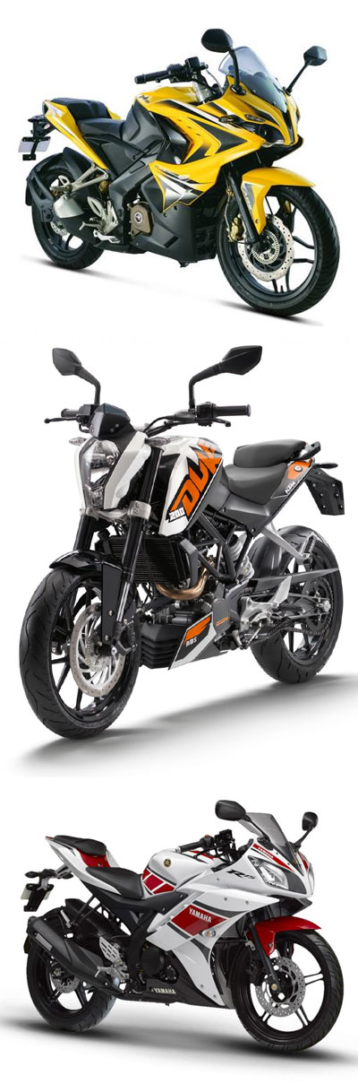 Top 5 200cc Bikes In India Review For 2017 Bike Bike News Ktm