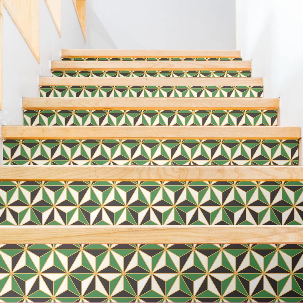 Stair Risers, Stairs, Peel
