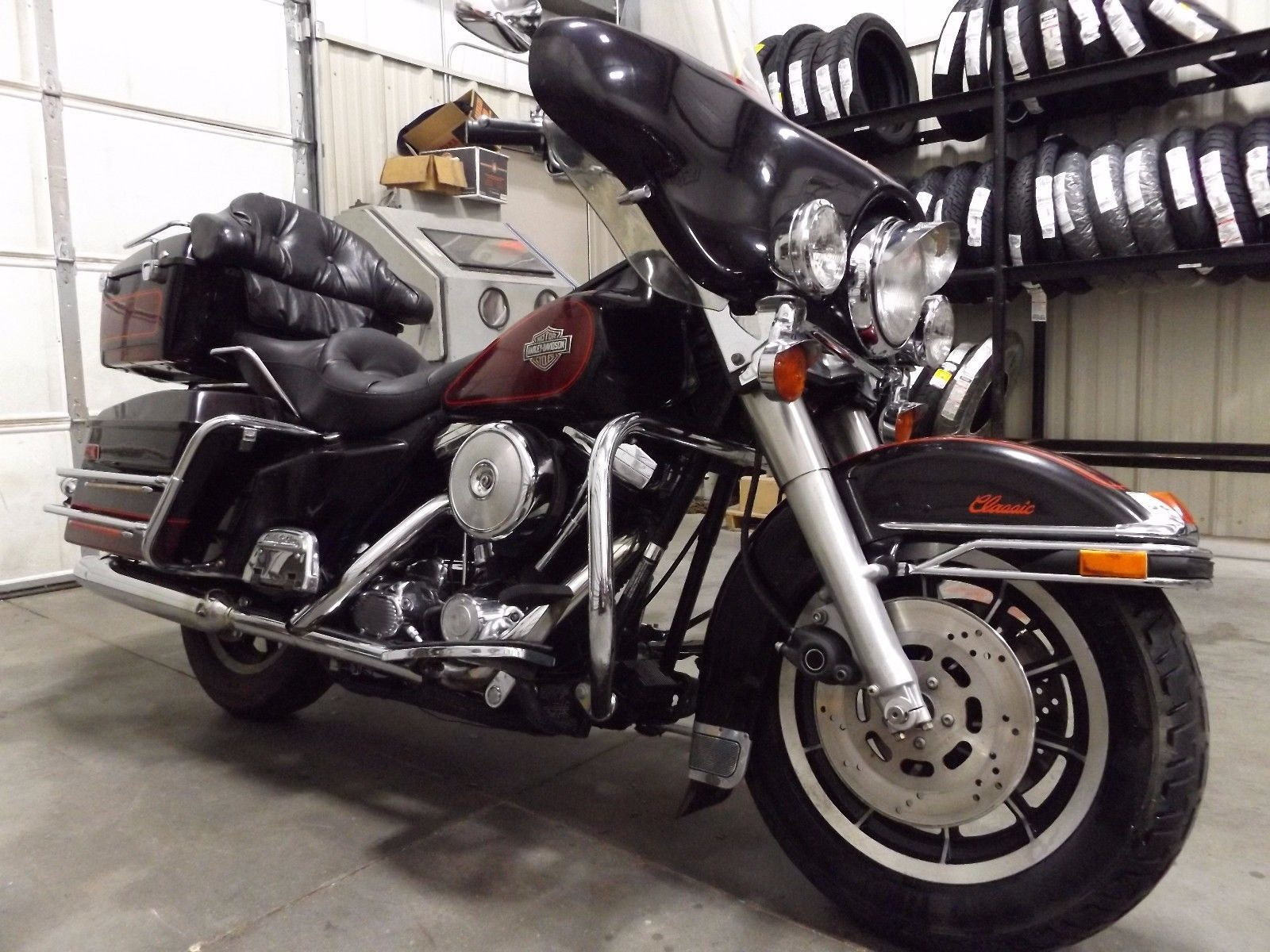 2001 Harley-Davidson Touring   Harley davidson and Clic bikes
