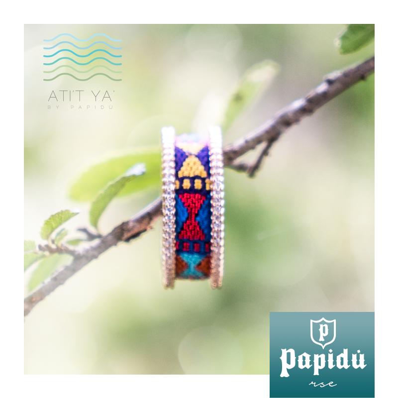 Al comprar un anillo de nuestra colección #ATITYA ayudas a la restauración del lago Atitlán, Encuéntralo únicamente en #JoyeriaPapidu