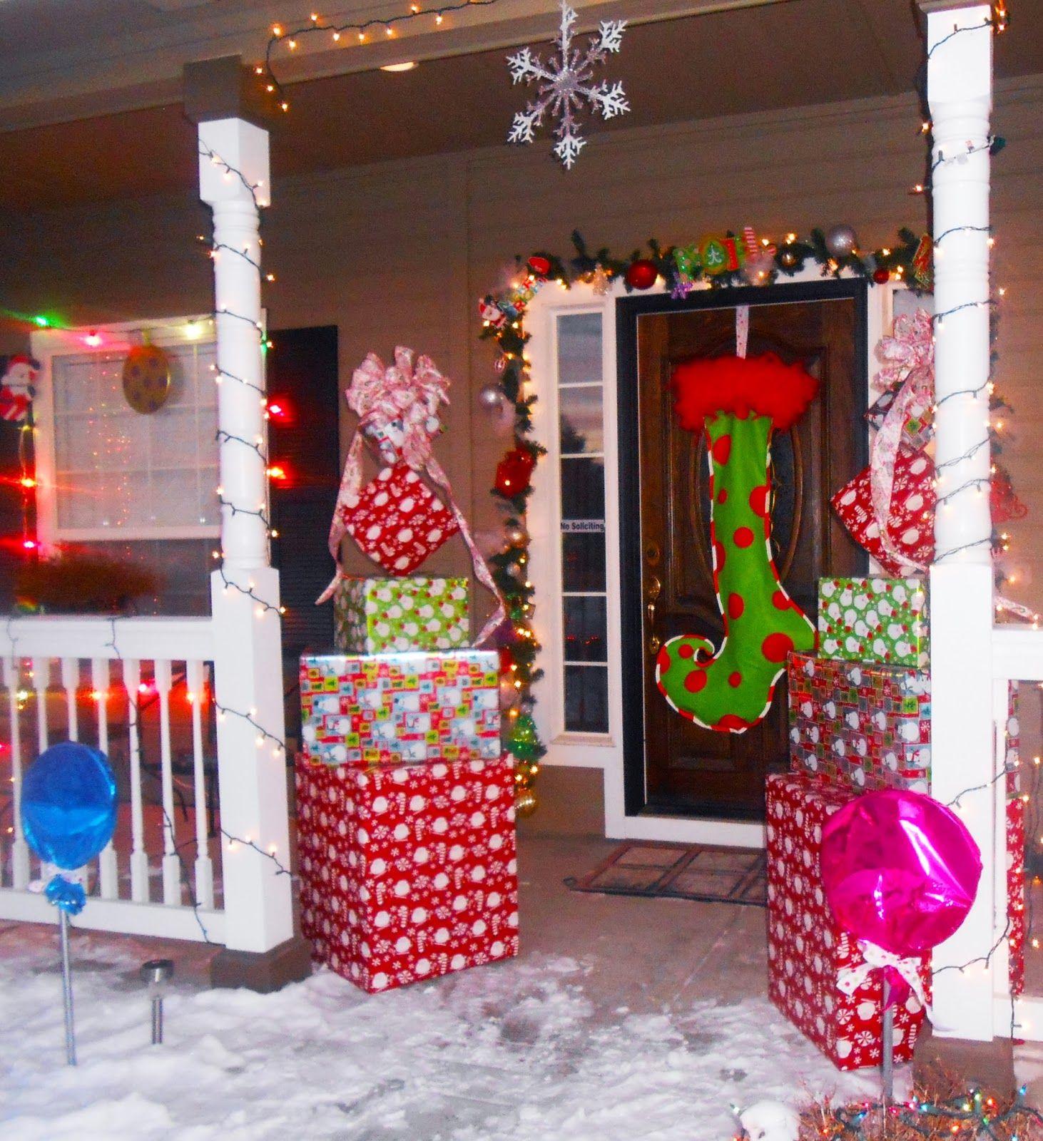Dr Seuss Christmas Door