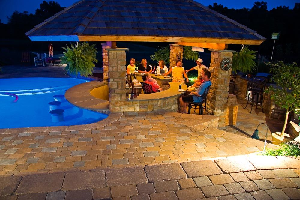 Sunken Pools By Outdoor Kitchens   Yahoo Image Search Results Part 63