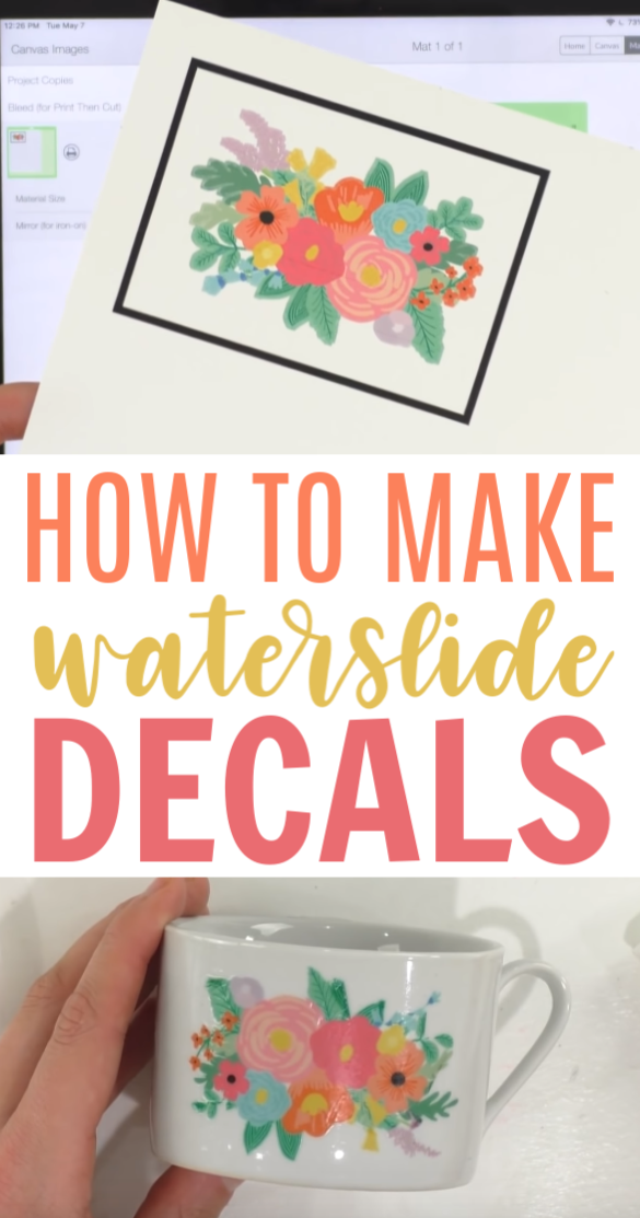 How To Make Waterslide Decals - Makers Gonna Learn