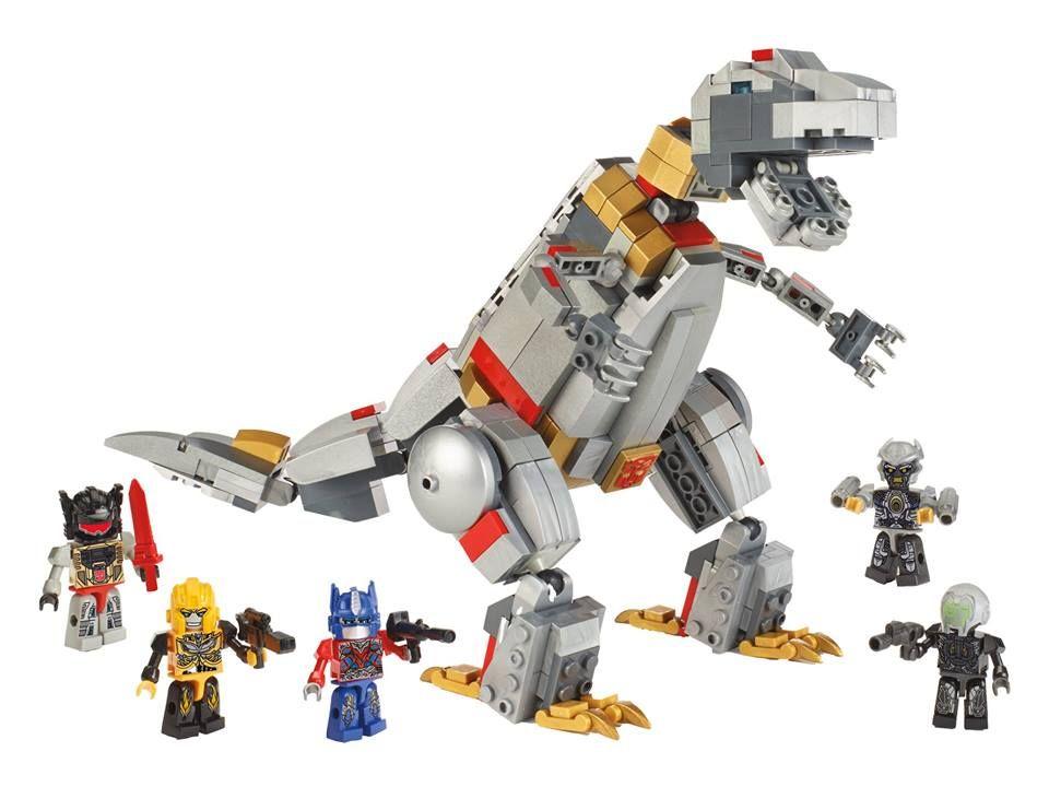 Kre O Transformers Grimlock Unleashed Poa 65 Skeletor