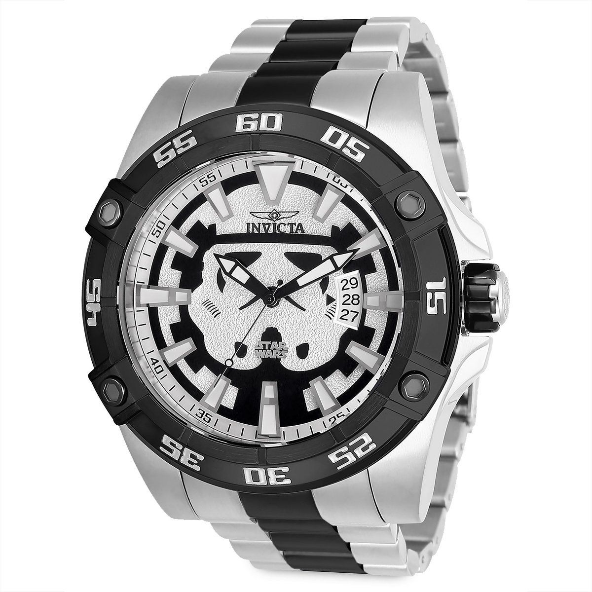 Product Image of Stormtrooper Watch for Men by INVICTA - Star Wars   1 10d66a3bab