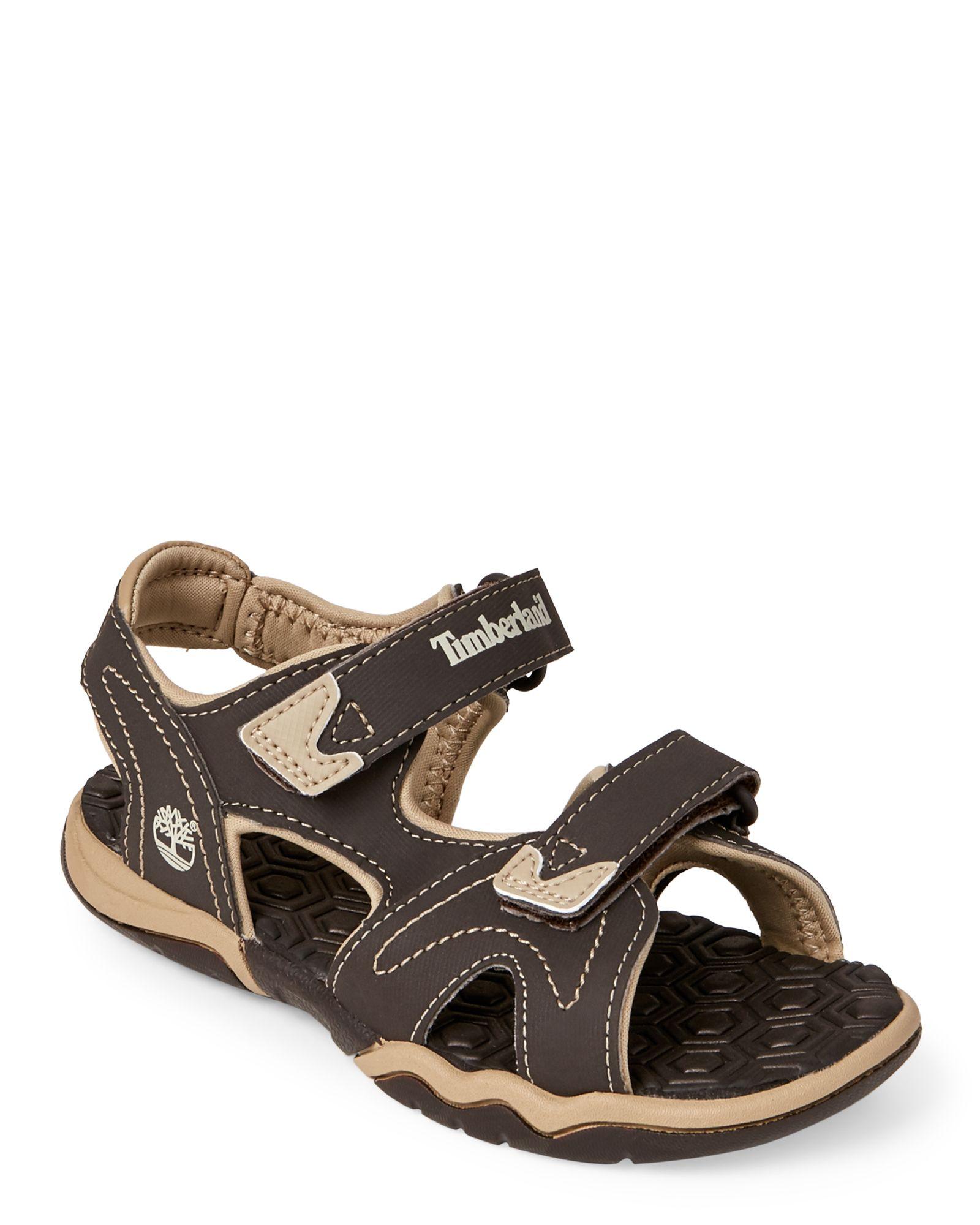Timberland (Kids Boys) Brown Adventure Seeker 2-Strap Sandals