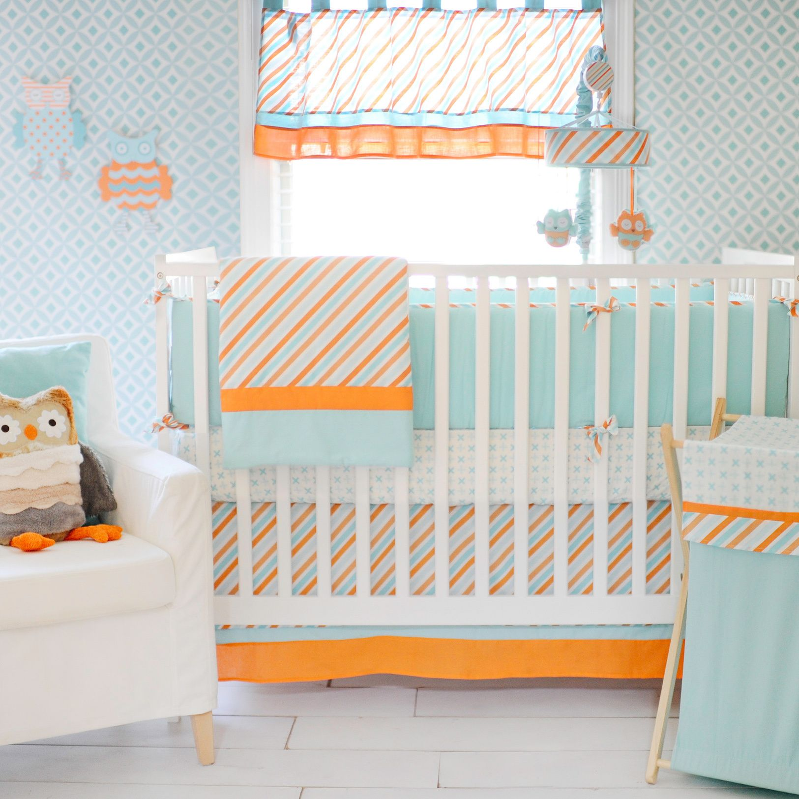 Create a sweet and simple nursery for