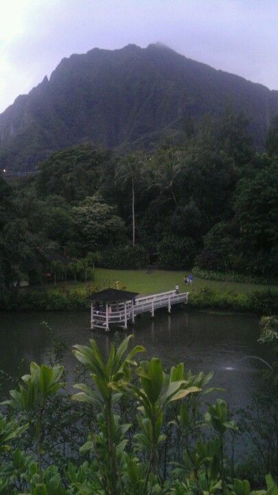 Haleiwa Joe's....Kaneohe, HI.We lived at the Haiku Garden apartments, so pretty!