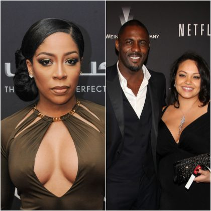 Is k michelle dating idris elba