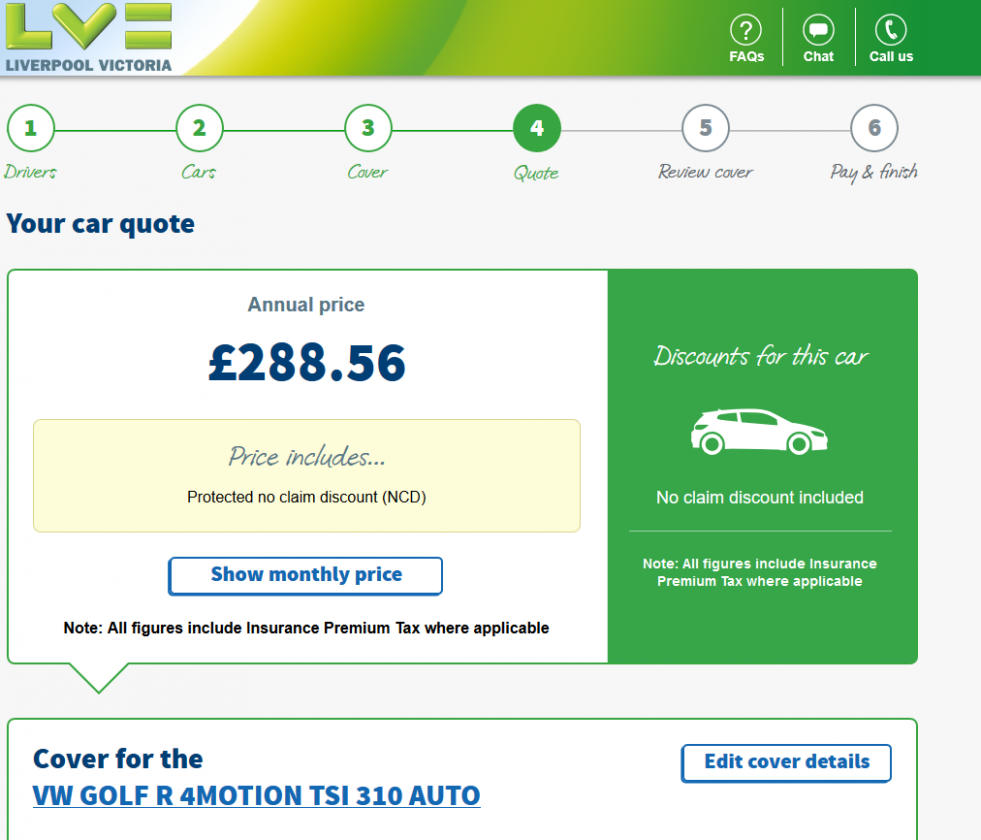 Seven Features Of Car Insurance Quotes Liverpool Victoria That