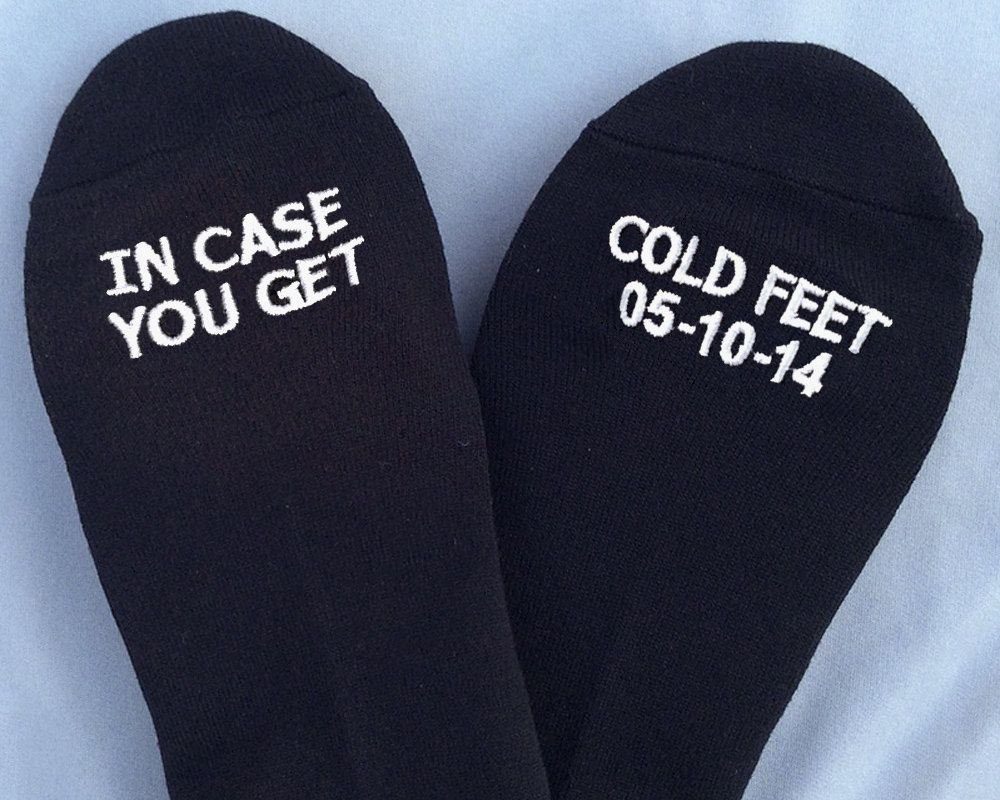 why do men get cold feet