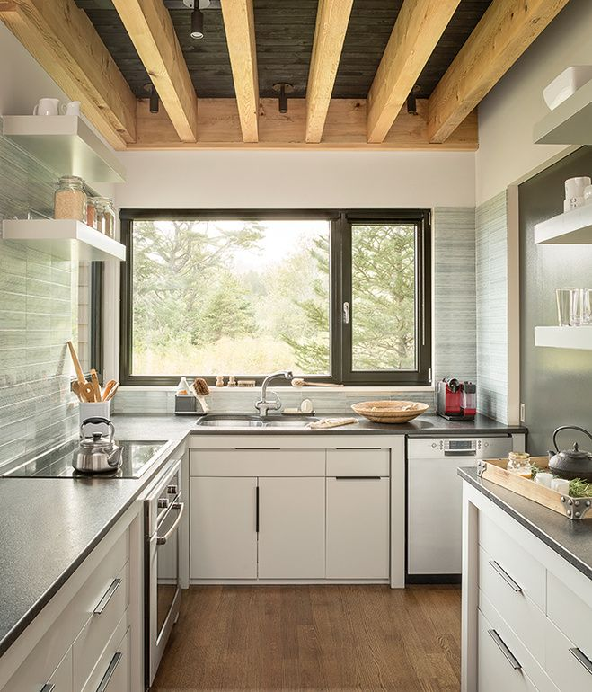 wooden landscape articles countertopsthe the blends black installed maine dwell pin granite on were about love in countertops articlesblack kitchen cambrian home com