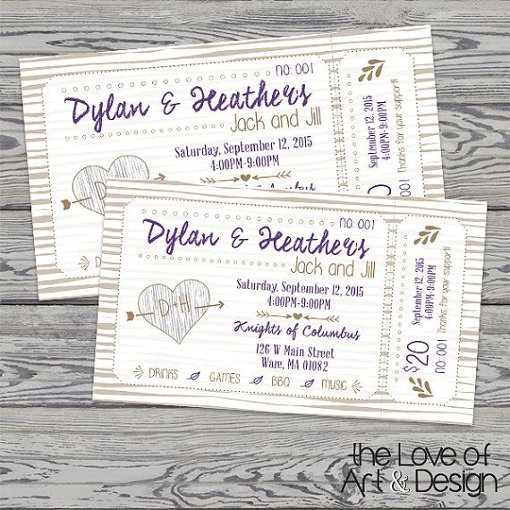 Printed Raffle Buck And Doe Tickets Jack By