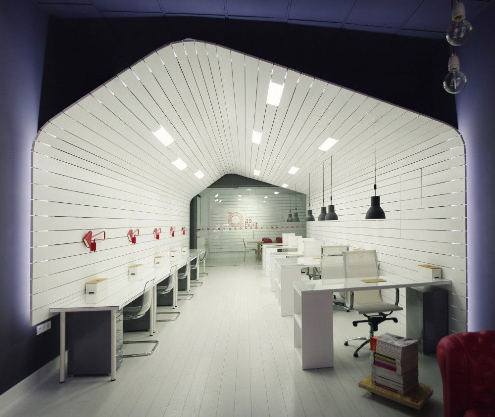 Architecture Studio Space gallery of office for architecture studio and coworking space / as