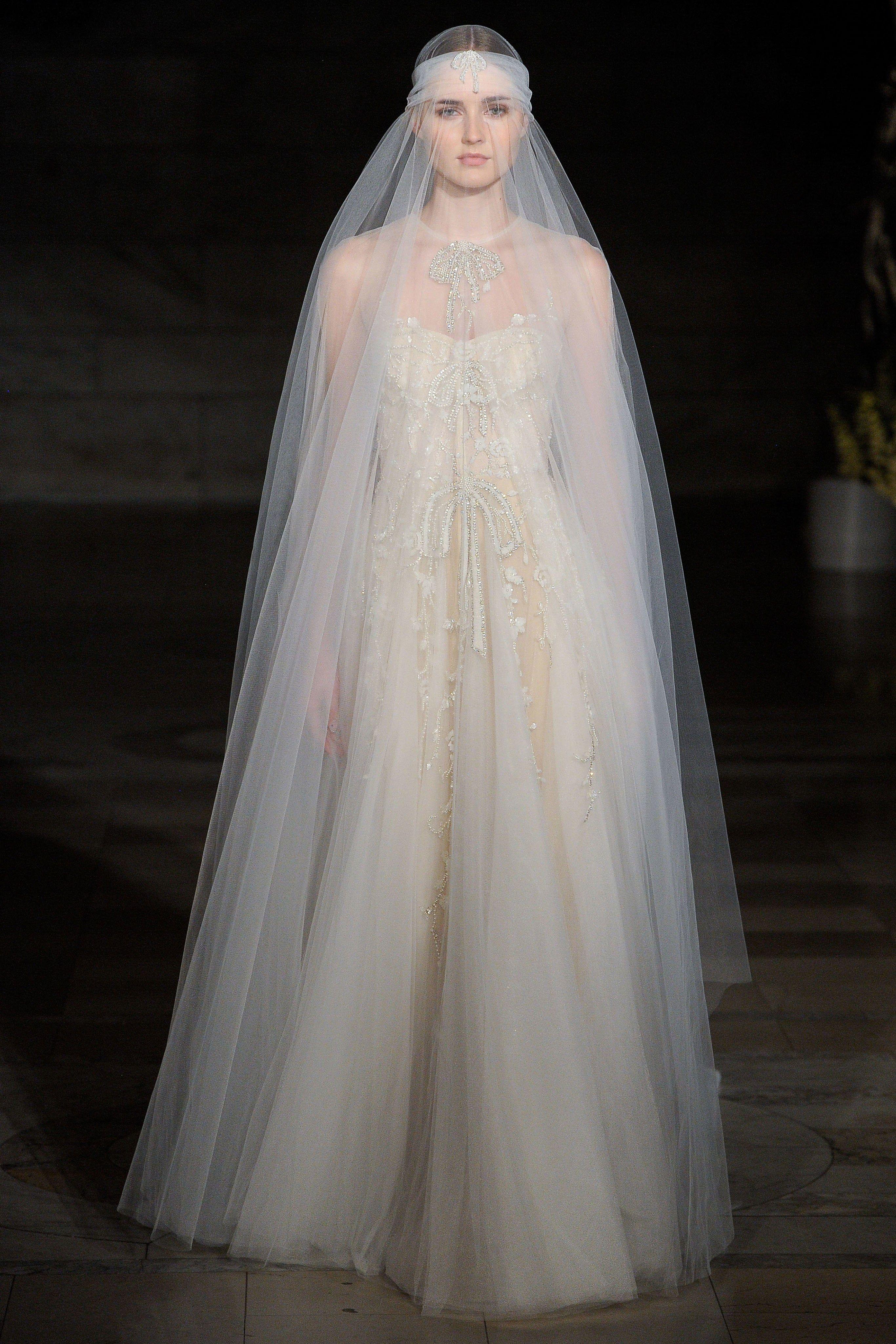 18e93006e1c Reem Acra Fall 2019 Bridal Collection - Vogue