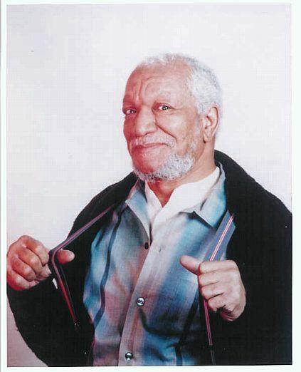 John Elroy Sanford Known Professionally As Redd Foxx Was An
