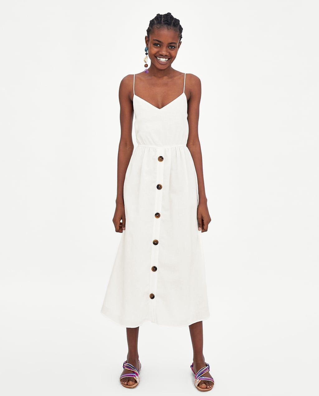 ab4dba57 DRESS WITH KNOT AT THE BACK-BEST SELLERS-WOMAN | ZARA United States ...