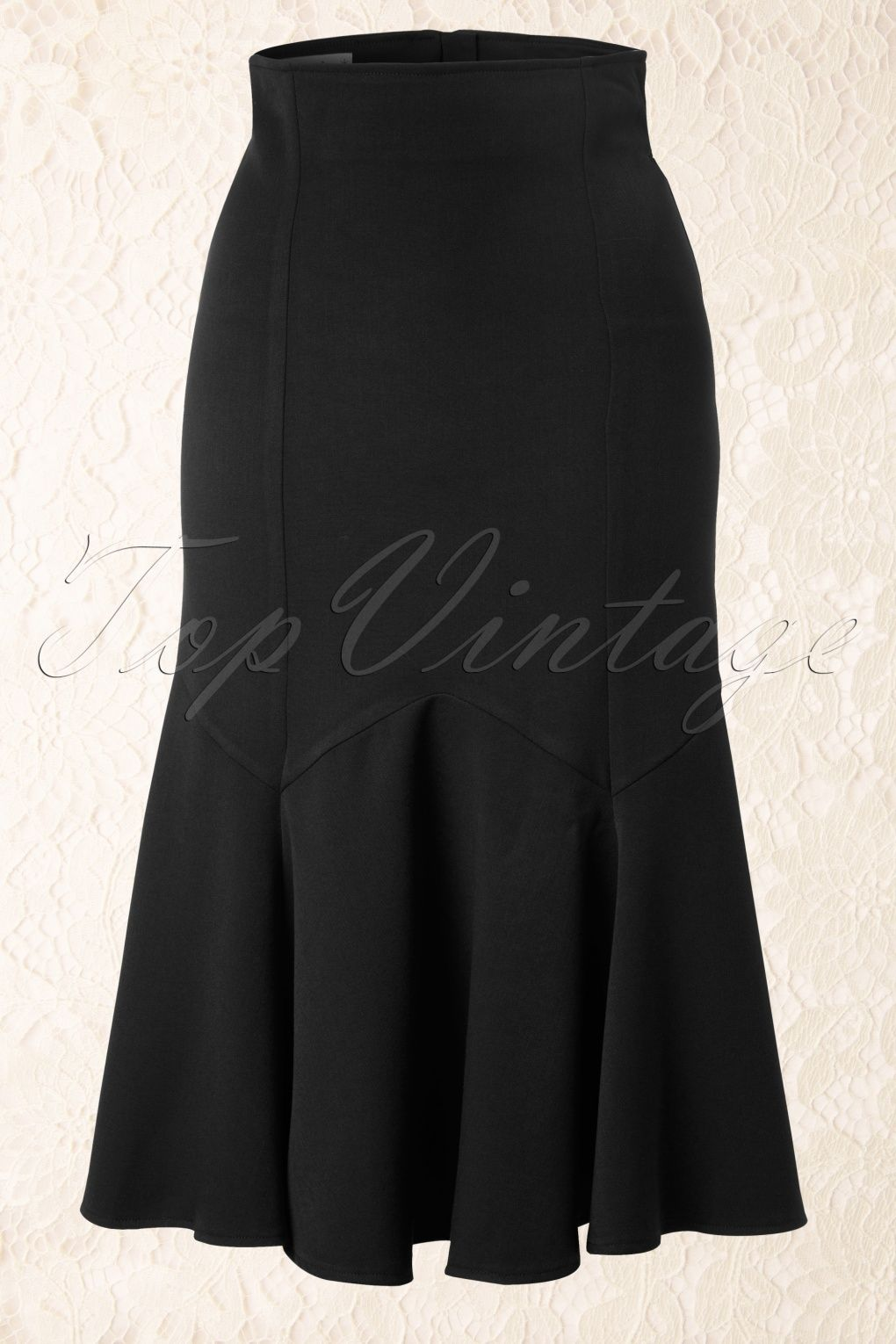 Miss Candyfloss - 50s Raina Skirt in Black