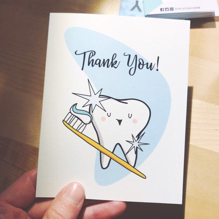 Excited To Share This Item From My Etsy Shop Thank You Tooth Greeting Card Printable Greeting Car Printable Greeting Cards Unique Greeting Cards Cute Tooth