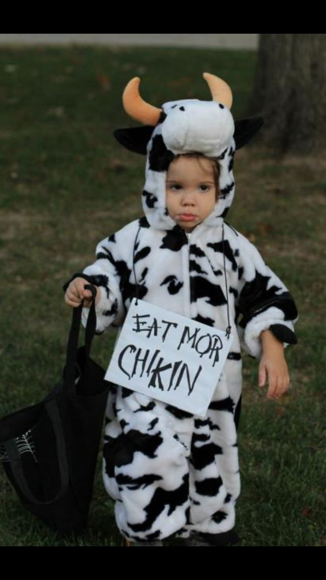 Halloween costume! Chick Fil A #cow  sc 1 st  Pinterest & Halloween costume! Chick Fil A #cow | Halloween | Pinterest | Cow ...