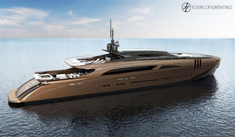The italian yacht designer federico fiorentino from milano for Yacht design milano
