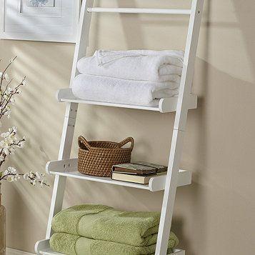 White Bath Ladder #bath #gettington