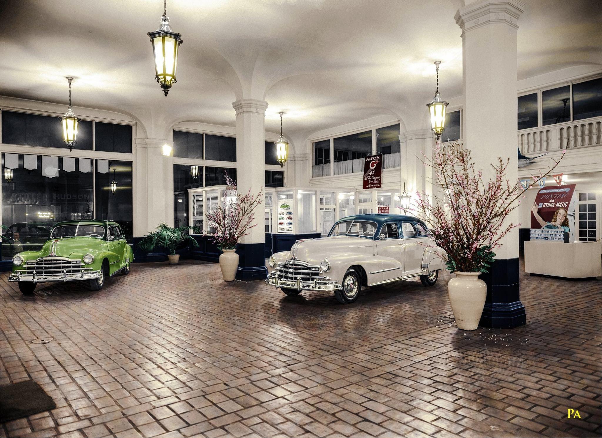 1948 Pontiac Showroom Van Ness Avenue San Francisco Pontiac Car