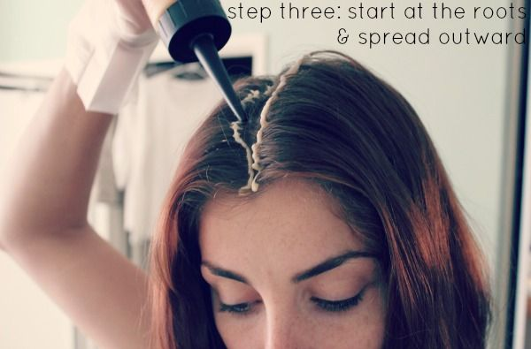 how to color your hair at home | Hair coloring, Makeup and Hair style