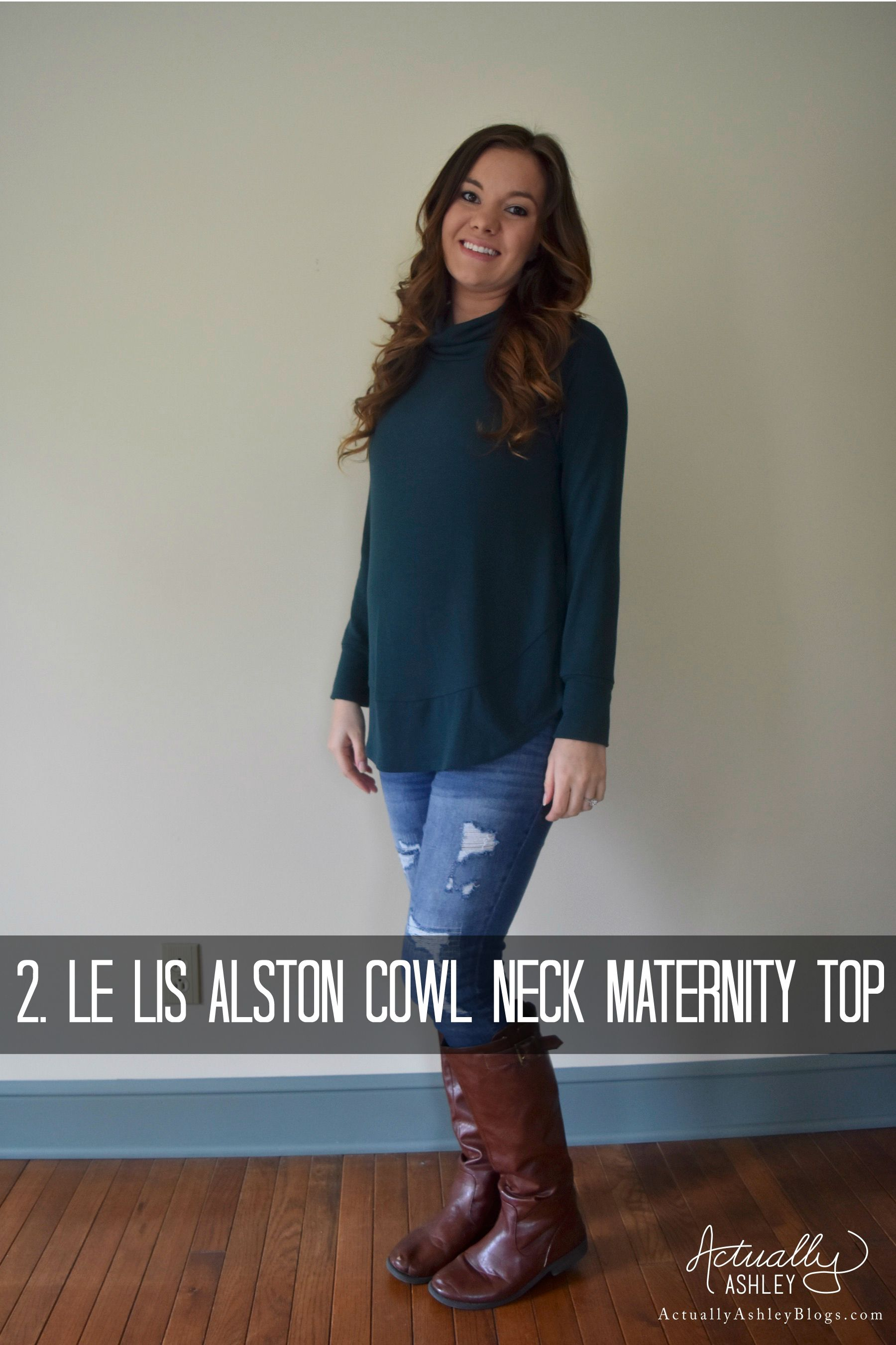 Getting My Fix- Stitch Fix Review 11 | Maternity sweater, Pullover ...