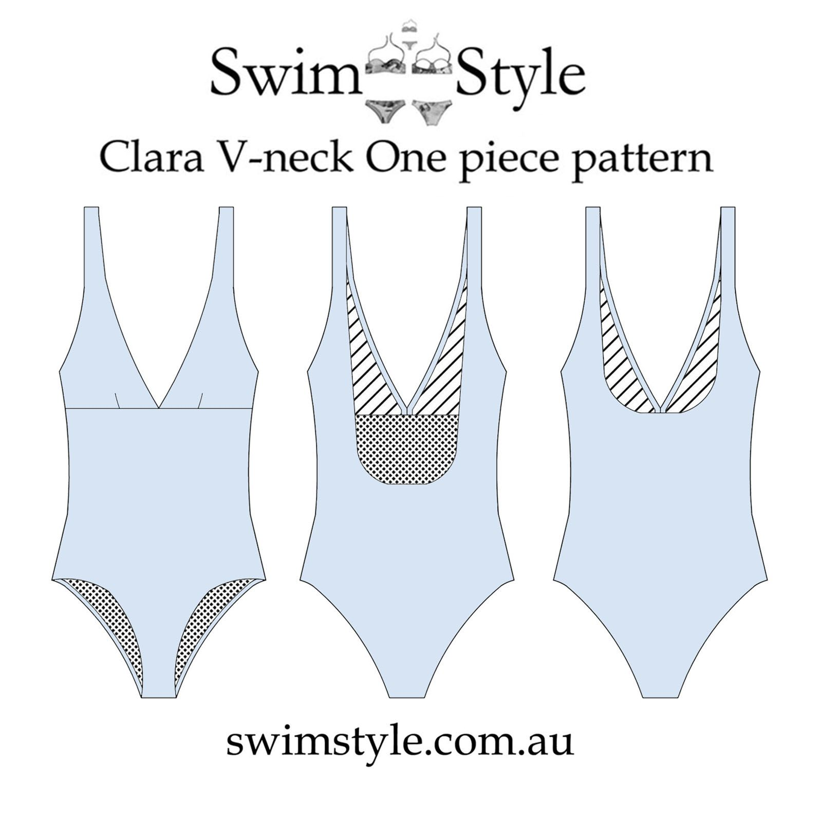030e38ab11701 One piece Clara sewing pattern | sew | Swimsuit pattern, Bikini ...