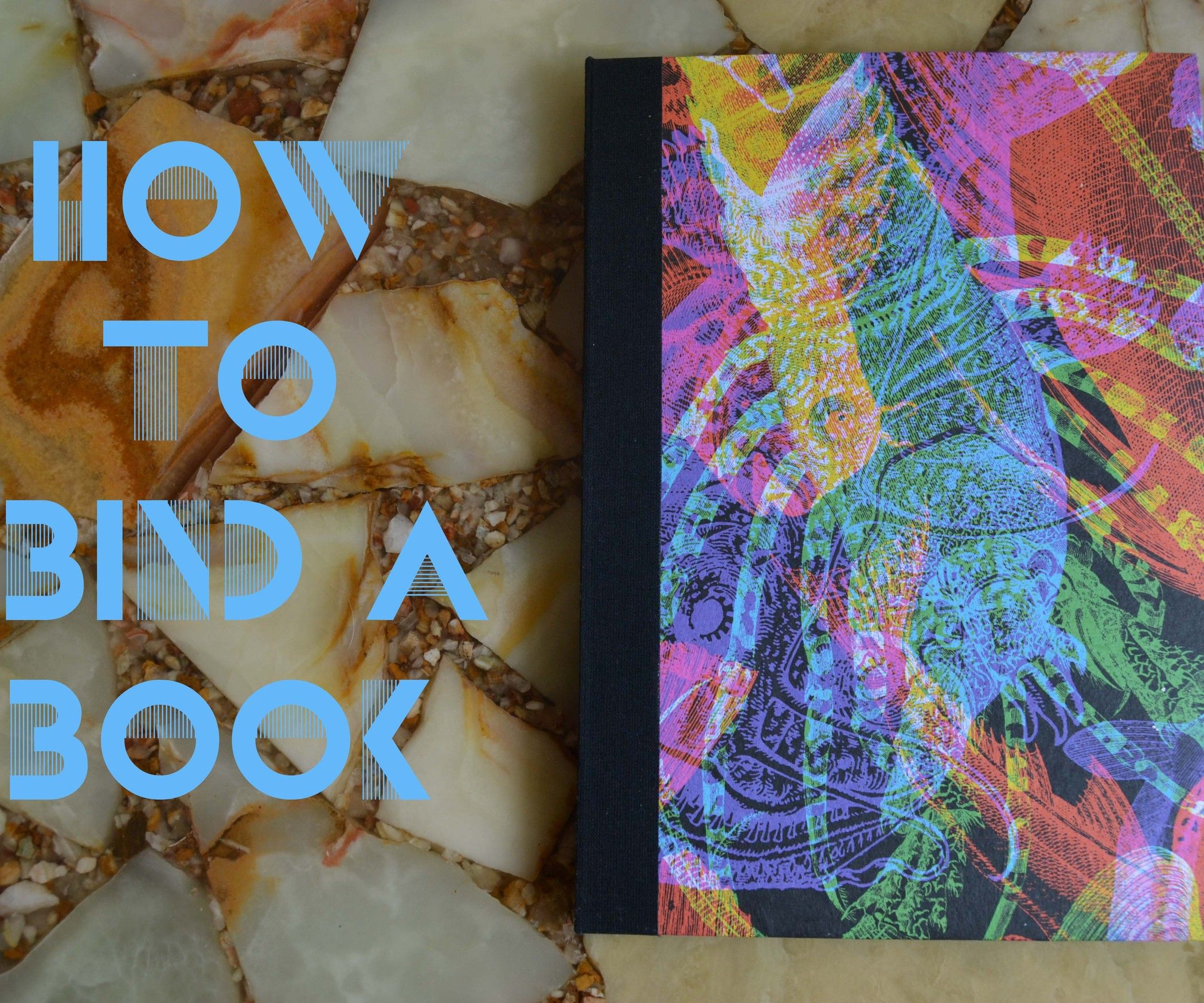 How to bind a book book binding methods paper crafts