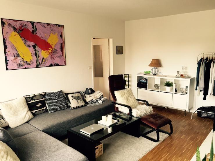Modernes Wohnzimmer In Neuer 2 Zimmer Wohnung   Wohnung In Köln Mauenheim.  #köln #wohnung #wohnzimmer #livingroom