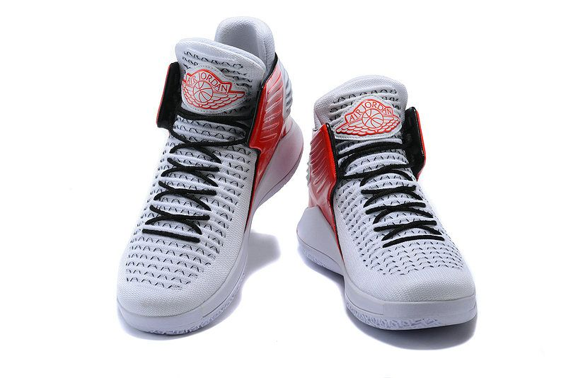 588e4405b30 New 2018 Air Jordan 32 (XXXII) White Red Black PE | Classic ...