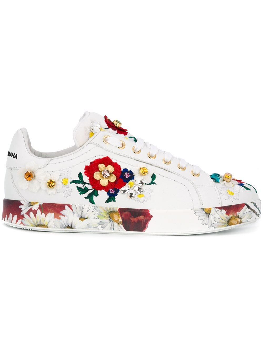 Blanc Chaussures Dolce & Gabbana Femmes CSrrs7