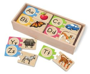 Self-Correcting Letter Puzzles. For Olivia
