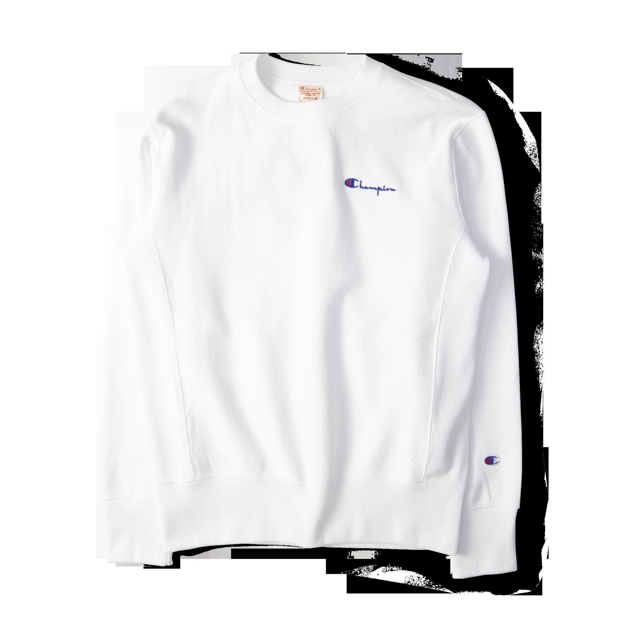 4915c8632f43 Champion Reverse Weave Rear Print Logo Crew Sweat White Free SHIPPING OVER  £50.00 #grants #grants1856 #1856