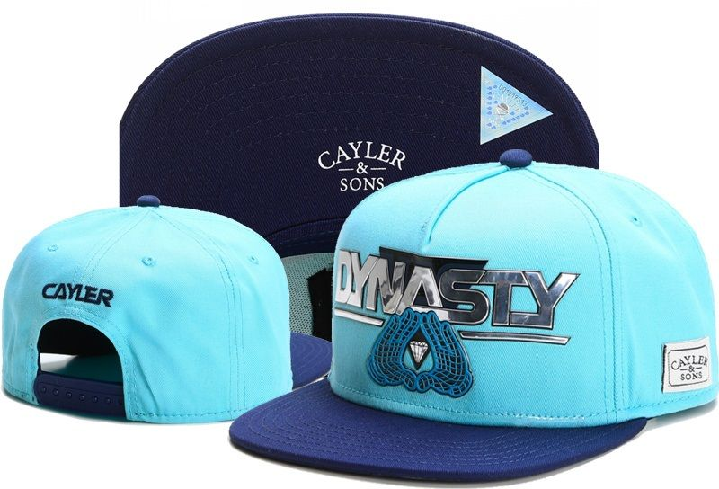 pretty nice 556aa 9629c Men s   Women s Cayler   Sons C   S White Label Dynasty Brooklyn hands Snapback  Hat - Cyan   Navy