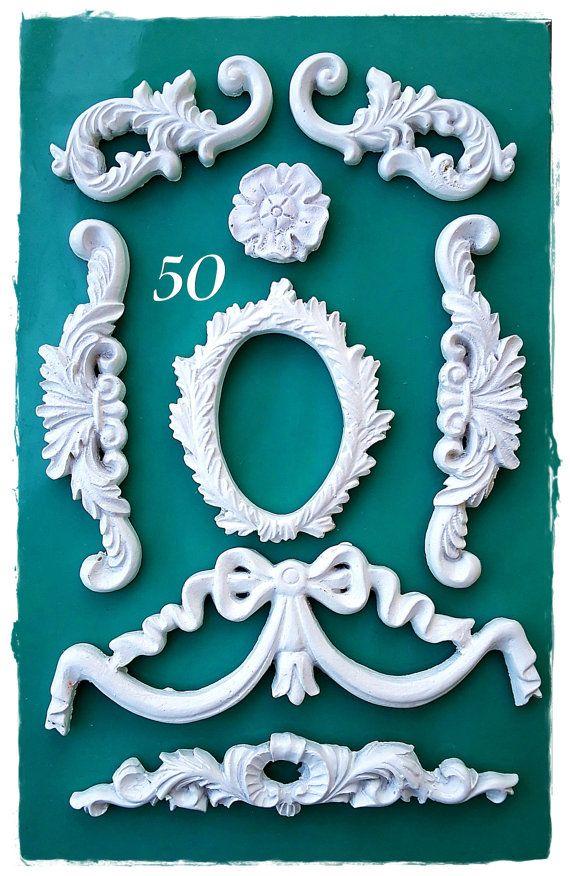 Fondant Icing//Gâteau Décoration// Cadre Moule Silicone//ART DECO Arch Miroir Moule