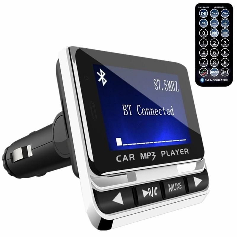 Bluetooth MP3 LCD FM Transmitter Wireless Car Kit TF Radio Adapter USB Charger