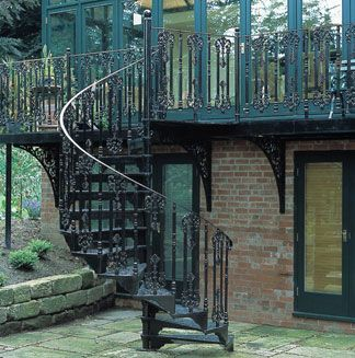 Cool Spiral Staircases   Cast Iron And Metal Edition   Democratic  Underground