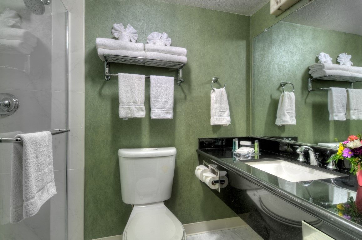 New bathrooms and amenities as well.