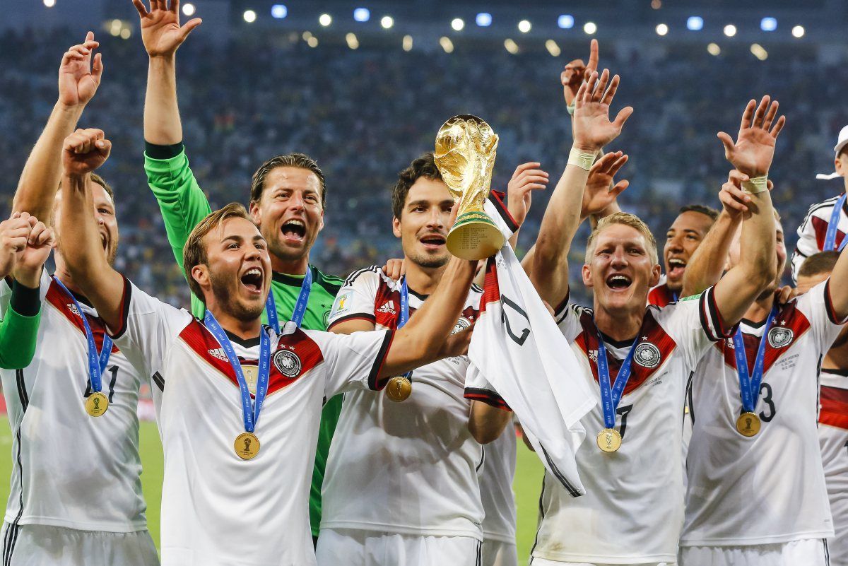 Germany S Moment Of Brilliance Mario Gotze Jerome Boateng World Cup Final