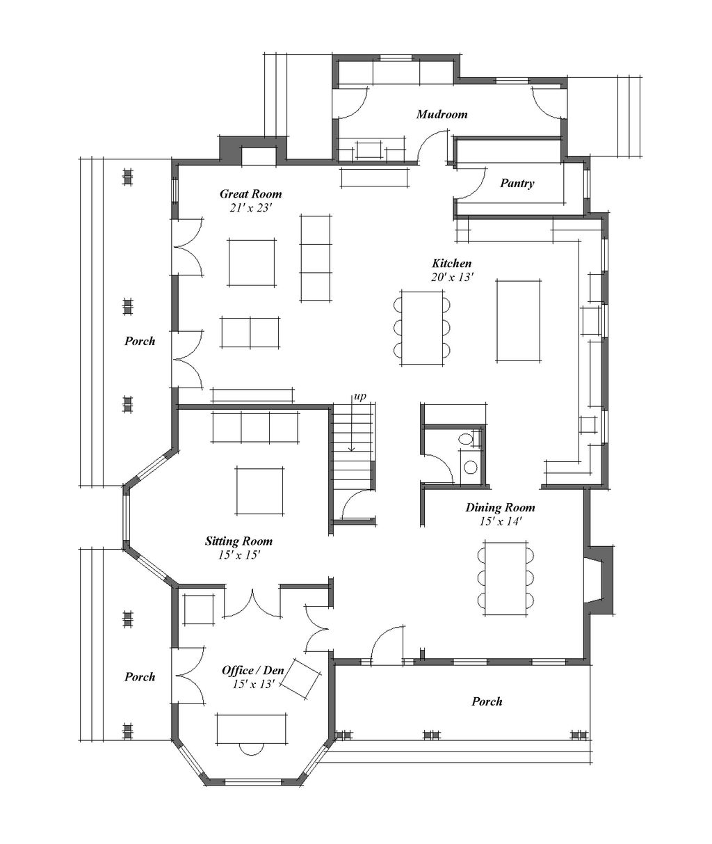 Plan houseplans plans pinterest bedrooms country