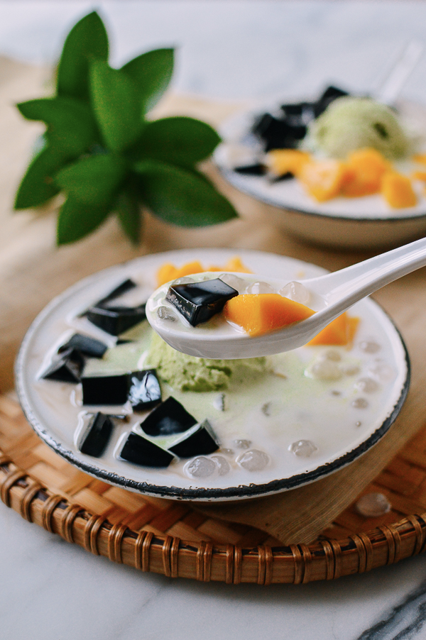 Photo of Grass Jelly Dessert: Customize Our Recipe! | The Woks of Life