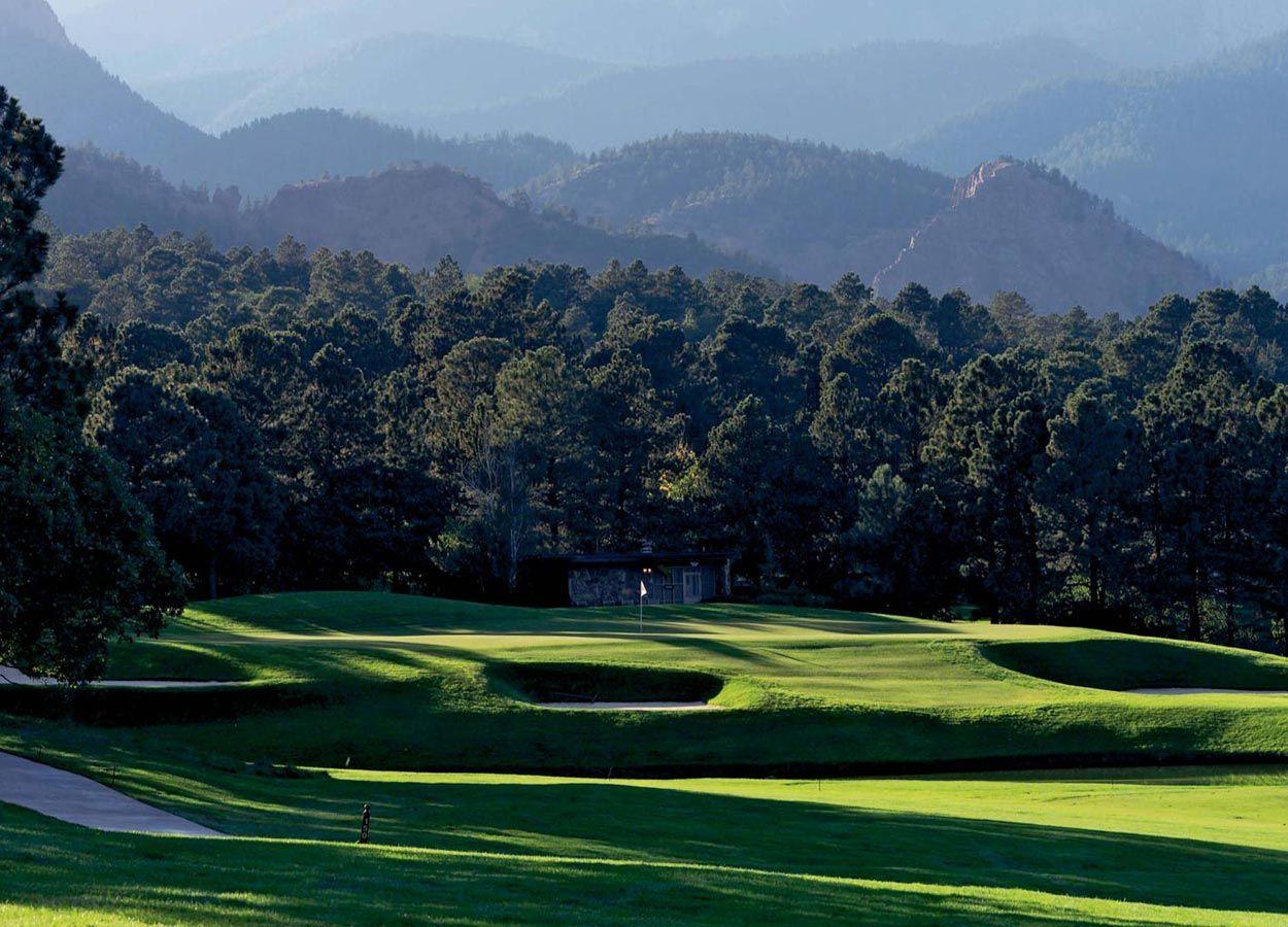 Colorado Golf Resorts The Broadmoor Colorado Springs Golf Vacations