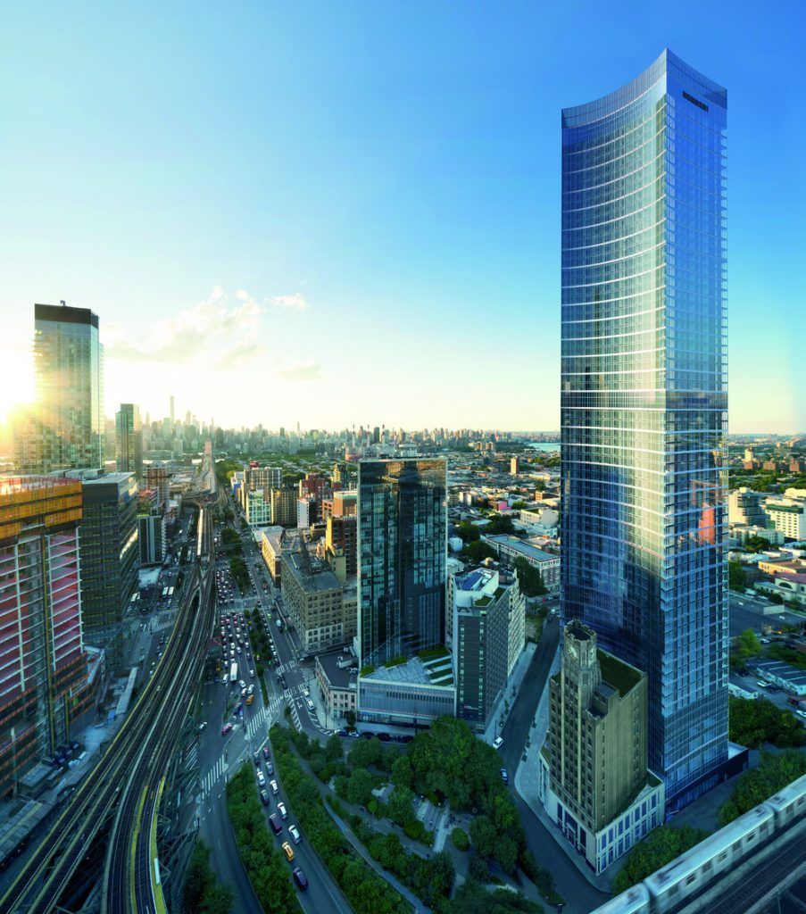 Exclusive New Rendering Revealed For Durst's Queens Plaza