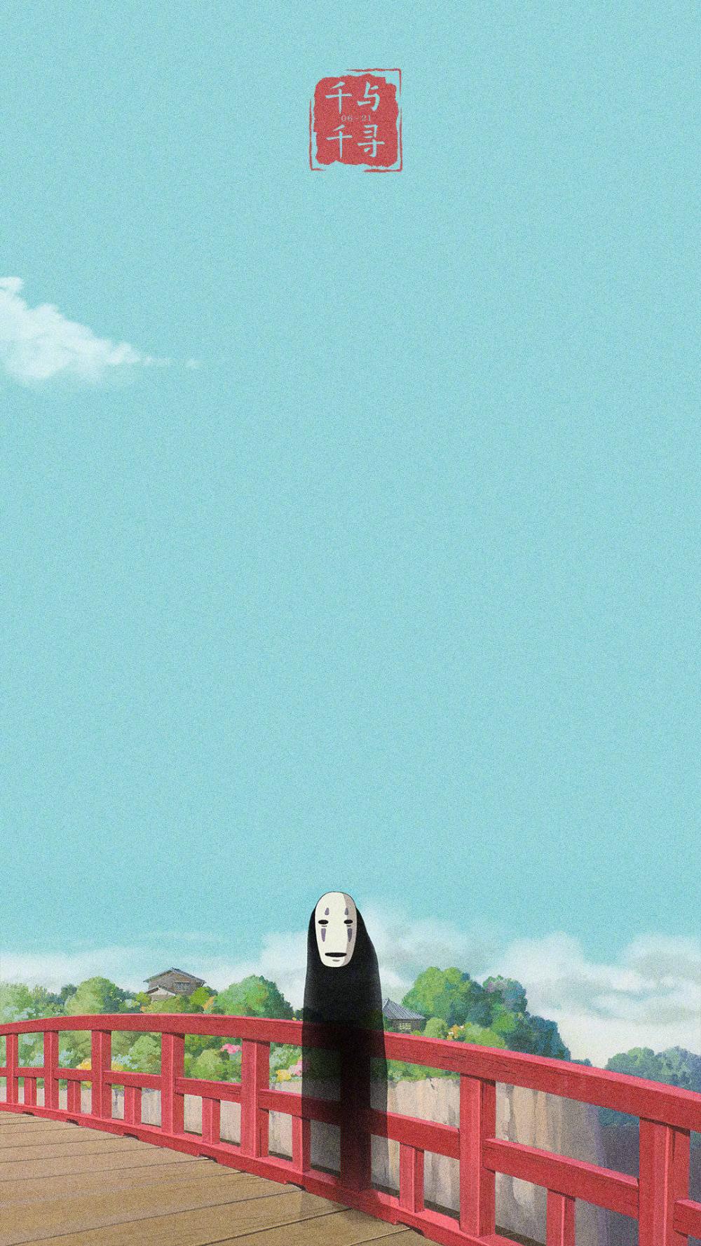 Wallpaper Spirited_Away 千と千尋の神隠し Spirited away