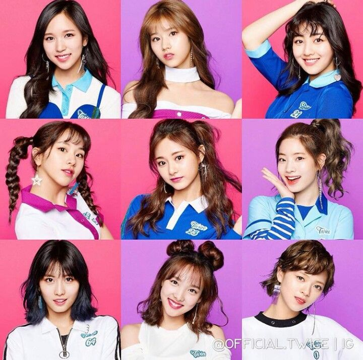 """Twice comeback with th e song """"One more time"""" 2017/10/18"""